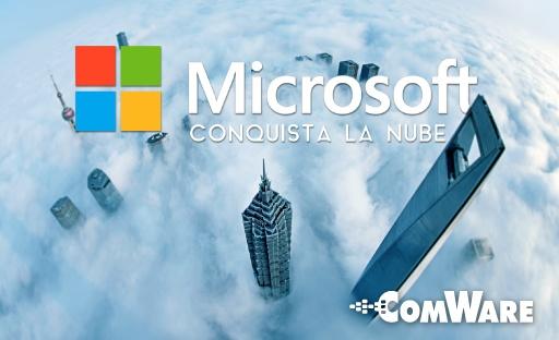 Microsoft conquista la nube - Featured Image